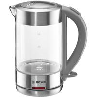 Bosch TWK7090 1.5l 2200W Silber Wasserkocher (Silber, Transparent)
