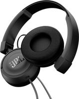 JBL T450 Kopfband Binaural Verkabelt Schwarz (Schwarz)