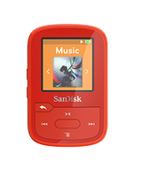 Sandisk SDMX28-016G-G46R MP3 16GB Rot MP3-/MP4-Player (Rot)