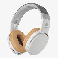 Skullcandy Crusher Wireless Kopfband Binaural Verkabelt Bräune, Weiß Mobiles Headset (Bräune, Weiß)