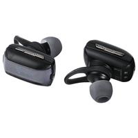 Hama FreeStereo Twins im Ohr Binaural Kabellos Grau Mobiles Headset (Grau)