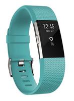 Fitbit Charge 2 (Schwarz, Blau)