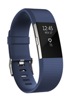 Fitbit Charge 2 (Blau, Silber)