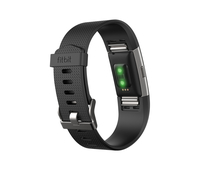Fitbit Charge 2 (Schwarz, Silber)