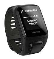 TomTom Spark 3 Cardio + Music Bluetooth Schwarz Sportuhr (Schwarz)