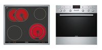 Siemens EQ231EK04B Keramik Elektrischer Ofen Kochgeräte-Set