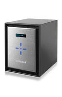 Netgear ReadyNAS 526X NAS Mini Tower Eingebauter Ethernet-Anschluss Schwarz, Silber (Schwarz, Silber)