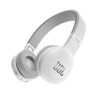 JBL E45BT Kopfband Binaural Verkabelt/Kabellos Weiß (Weiß)