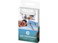 HP ZINK Sticky-backed 20 sht/2 x 3 in Glanz Weiß (Weiß)