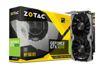 Zotac GeForce GTX 1070 Mini NVIDIA GeForce GTX 1070 8GB (Schwarz)