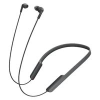 Sony MDR-XB70BT im Ohr, Nackenband Binaural Bluetooth Schwarz (Schwarz)