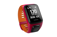 TomTom Runner 3 Cardio – Pink/Orange – Größe S (Orange, Pink)