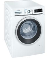 Siemens WM16W7A1 Freistehend Frontlader 9kg 1600RPM A+++ Edelstahl, Weiß Waschmaschine (Edelstahl, Weiß)