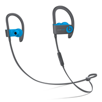 Apple Powerbeats3 Stereophonisch Ohrbügel, im Ohr Schwarz, Blau (Schwarz, Blau)