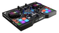 Hercules Instinct P8 2Kanäle Schwarz DJ-Controller (Schwarz)