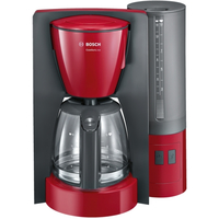 Bosch TKA6A044 Drip coffee maker Anthrazit, Rot Kaffeemaschine (Anthrazit, Rot)
