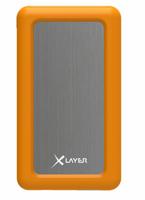 XLayer 211526 Lithium Polymer (LiPo) 6000mAh Grau Akkuladegerät (Grau, Orange)