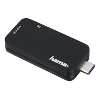 Hama 00135751 USB 3.0 (3.1 Gen 1) Type-C Schwarz Kartenleser (Schwarz)