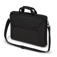 Dicota D31209 15.6Zoll Notebook briefcase Schwarz Notebooktasche (Schwarz)