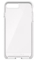 Tech21 Evo Check 5.5Zoll Abdeckung Weiß (Transparent, Weiß)
