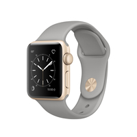 Apple Watch Series 1 OLED 25g Gold (Grau, Gold)