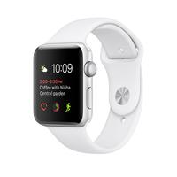 Apple Watch Series 2 OLED 28.2g Silber (Weiß, Silber)