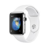 Apple Watch Series 2 OLED 52.4g Edelstahl (Weiß, Edelstahl)