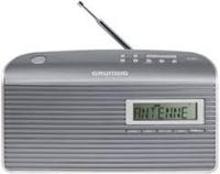 Grundig Music GS 7000 DAB+ Tragbar Analog & digital Grau, Silber Radio (Grau, Silber)
