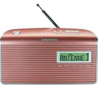 Grundig Music RS 7000 DAB+ Tragbar Analog & digital Radio (Rosa-Goldfarben, Silber)