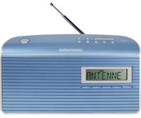 Grundig Music BS 7000 DAB+ Tragbar Analog & digital Blau, Silber Radio (Blau, Silber)