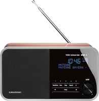 Grundig DTR 4000 DAB+ BT Uhr Rosa-Goldfarben Radio (Rosa-Goldfarben)