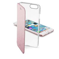 Cellular Line 37790 4.7Zoll Mobile phone folio Pink,Transparent (Pink, Transparent)