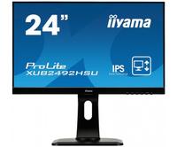 iiyama ProLite XUB2492HSU-B1 23.8Zoll Full HD IPS Schwarz Computerbildschirm LED display (Schwarz)