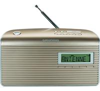 Grundig Music CS 7000 DAB+ Tragbar Analog & digital Champagner, Silber Radio (Champagner, Silber)