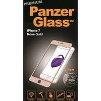 PanzerGlass 2603 Klare Bildschirmschutzfolie iPhone 7 1Stück(e) Bildschirmschutzfolie (Rosa-Goldfarben, Transparent)