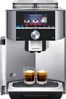 Siemens TI909701HC Espressomaschine Schwarz, Edelstahl Kaffeemaschine (Schwarz, Edelstahl)