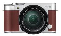 Fujifilm FinePix X-A3 + XC16-50mm Systemkamera 24.2MP CMOS Braun, Silber (Braun, Silber)