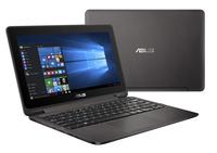 ASUS VivoBook Flip TP201SA-FV0009T 1.6GHz N3060 11.6Zoll 1366 x 768Pixel Touchscreen Schwarz, Grau (Schwarz, Grau)