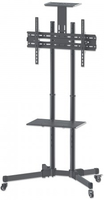 Manhattan 461238 70Zoll Tragbar Schwarz Flachbildschirm-Bodenhalter (Schwarz)