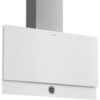 Bosch Serie 8 DWF97RV20 Wandmontiert 730m³/h A Edelstahl, Weiß Dunstabzugshaube (Edelstahl, Weiß)