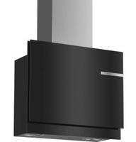 Bosch DWF97KR60 Wandmontiert 730m³/h A Schwarz, Edelstahl Dunstabzugshaube (Schwarz, Edelstahl)