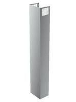 Bosch DWZ0AX5L0 Cooker hood extension tube Bauteil & Zubehör für Dunstabzugshauben (Metallisch)