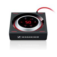 Sennheiser GSX 1200 Pro Gaming Audioverst 7.1Kanäle Haus Verkabelt Schwarz, Silber Audioverstärker (Schwarz, Silber)