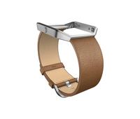Fitbit FB159LBSCML Silber Fitnessarmband (Beige, Silber)