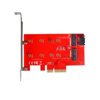 i-tec PCI-E 2x M.2 Card (Rot)