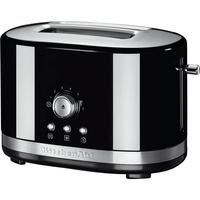 KitchenAid 5KMT2116 2Scheibe(n) 1800W Schwarz Toaster (Schwarz)