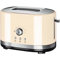 KitchenAid 5KMT2116 2Scheibe(n) 1800W Cremefarben Toaster (Cremefarben)