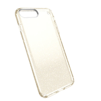 Speck Presidio 5.5Zoll Handy-Abdeckung Gold,Transparent (Gold, Transparent)