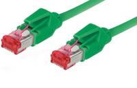 Alcasa 8066-115G 15m Cat6 S/FTP (S-STP) Grün Netzwerkkabel (Grün)