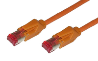 Alcasa 8066-005O 0.5m Cat6 S/FTP (S-STP) Orange Netzwerkkabel (Orange)
